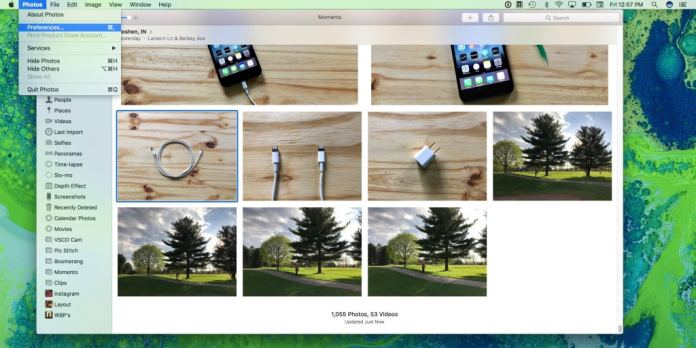 turn on iCloud Photo Library on a Mac