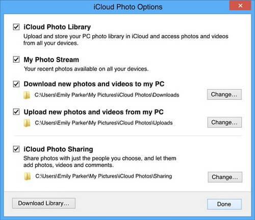 fix iCloud Photos not syncing with PC/Mac