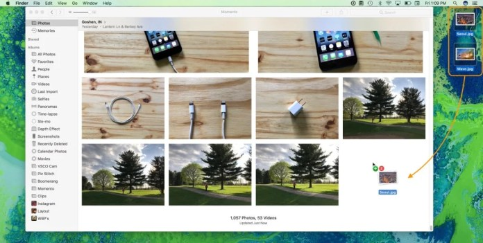 upload photos to iCloud Photo Library from MAC