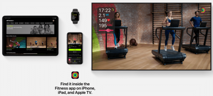 Time Flies Apple Event Fitness +