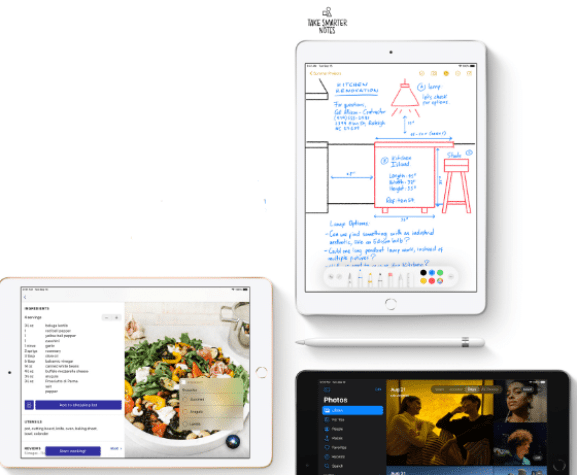 iPad 8th generation 2020 note taking