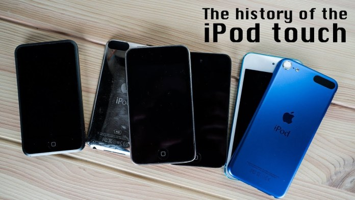 history of iPod Touch