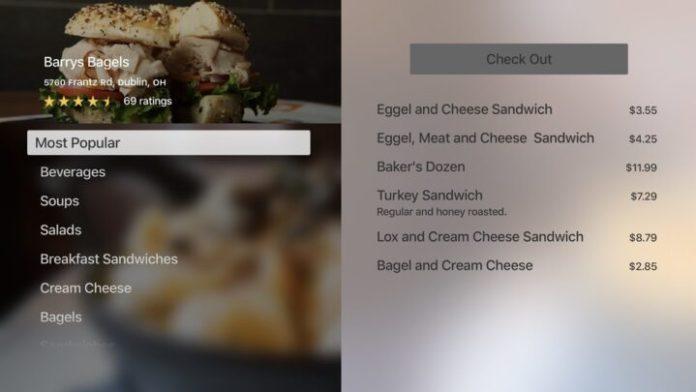 Grubhub- Apple TV app