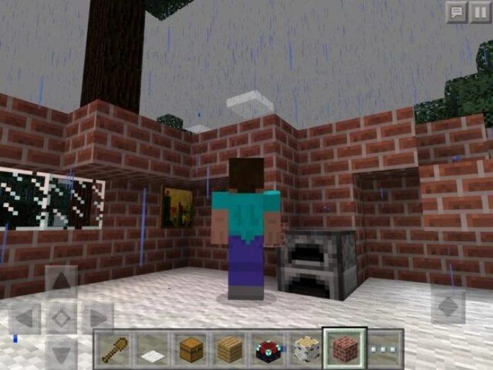 iPad game: Minecraft