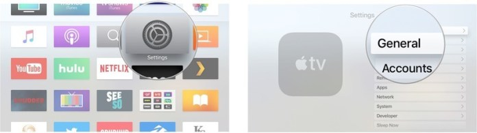 finding the serial number on Apple Tv