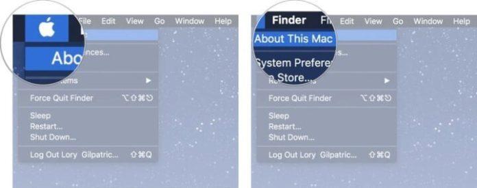 serial number on Mac.
