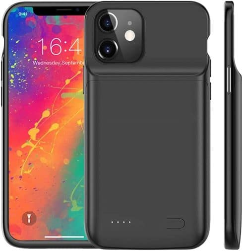Idealforce Battery Charging Case for iPhone 12