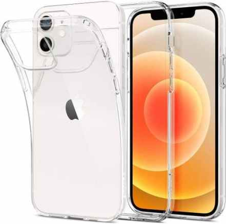 Spigen Liquid Crystal Designed for iPhone 12 Clear cover