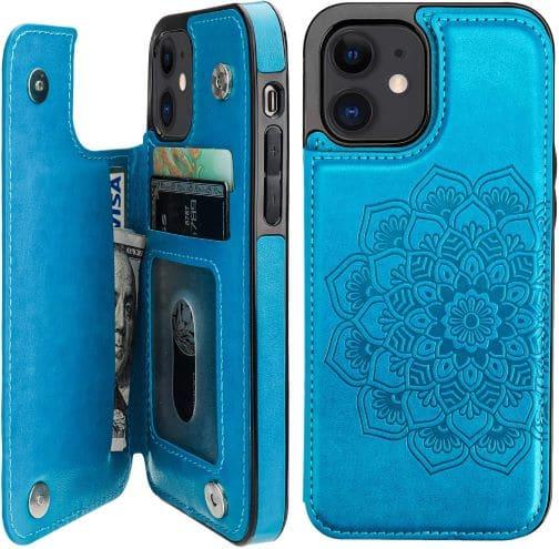 Vaburs iPhone 12 wallet cover