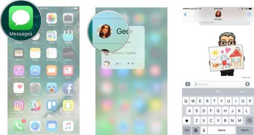 3D Touch or Haptic Touch on the Home screen