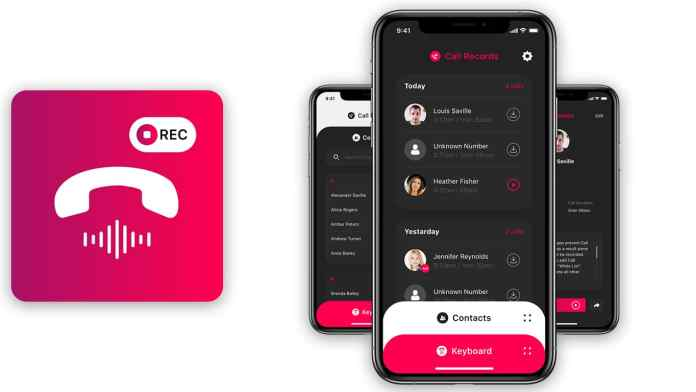 Call Recorder App for iPhone by Profuse