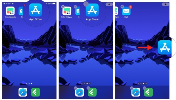 Move apps to a new Page- rearrange your apps on iPhone and iPad