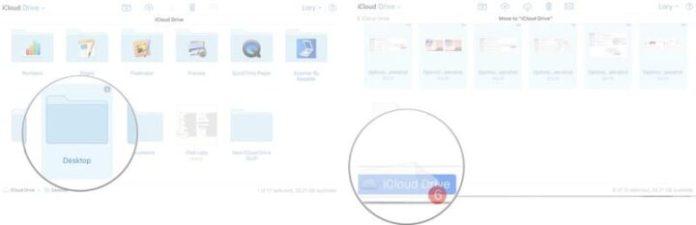 Manually create folders in iCloud drive