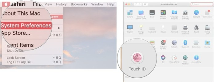 Change your Touch ID settings- use Touch ID on MacBook Air or MacBook Pro