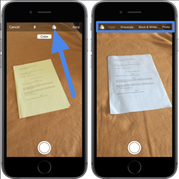 Add photos, video, scan to notes iPhone / iPad