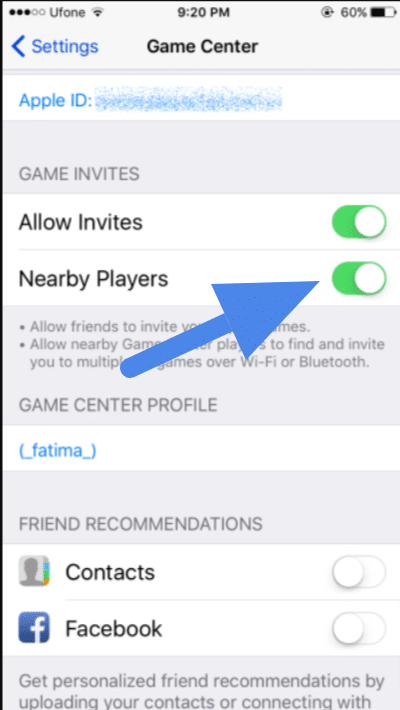 game center guide