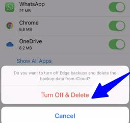 manage iCloud storage iPad/iPhone