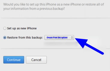 transfer data from iPhone
