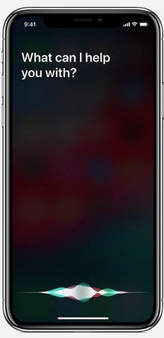 Take a video with Siri