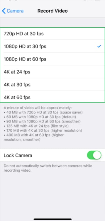 Record video with your iPhone