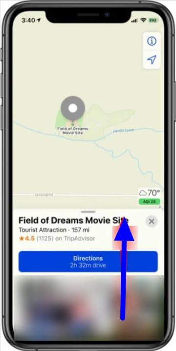 Apple Maps locations