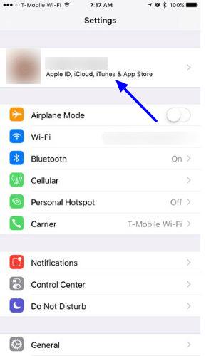 Set up iCloud on iPhone and iPad