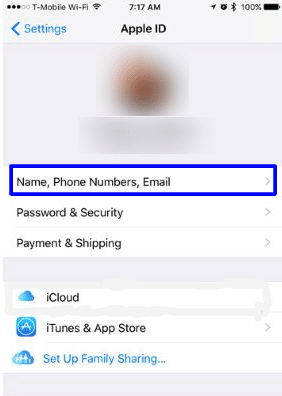 View contact information on iPhone and iPad