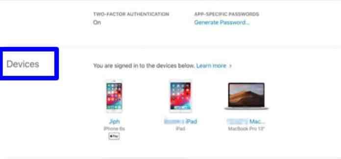 Delete your Apple ID