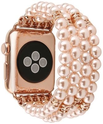 GEMEK Handmade Beaded Pearl Bracelet