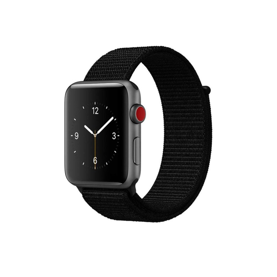 Apple Watch Nylon Sport Loop Black 6