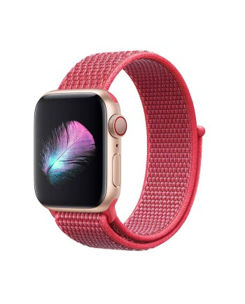 Apple-Watch-Strap-Sport-Loop-Red 2