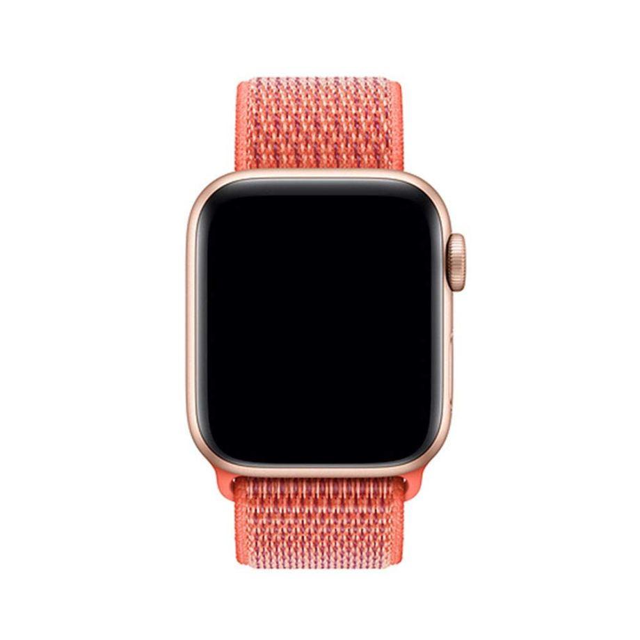 Apple watch nylon stpors strap Nectarine 2