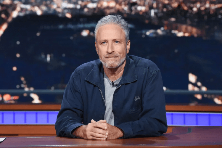 """Apple TV+ reveals the series title for Jon Stewart as """"The Problem with Jon Stewart,"""" and will debut in fall 2021"""