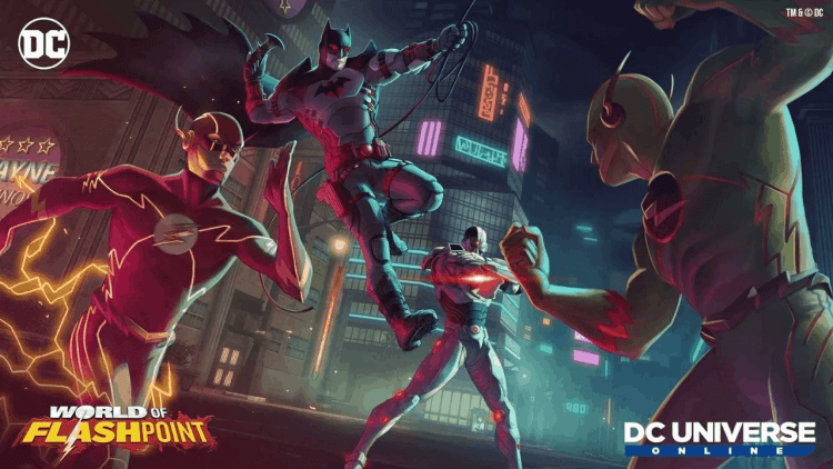 DC Universe Online will bring World of Flashpoint on April 15