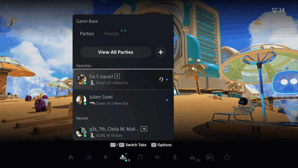 Sony's PS5 major update brings new USB extended storage and social features