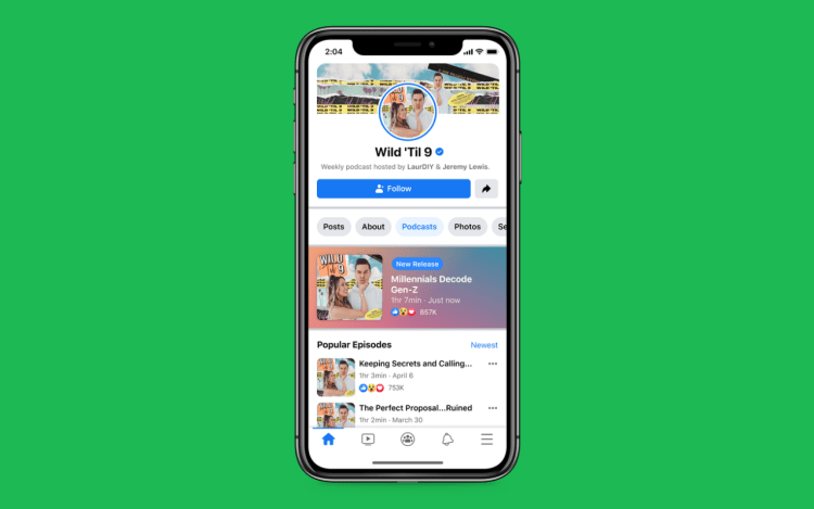 Facebook Will Soon Launching Podcasts to Facebook app