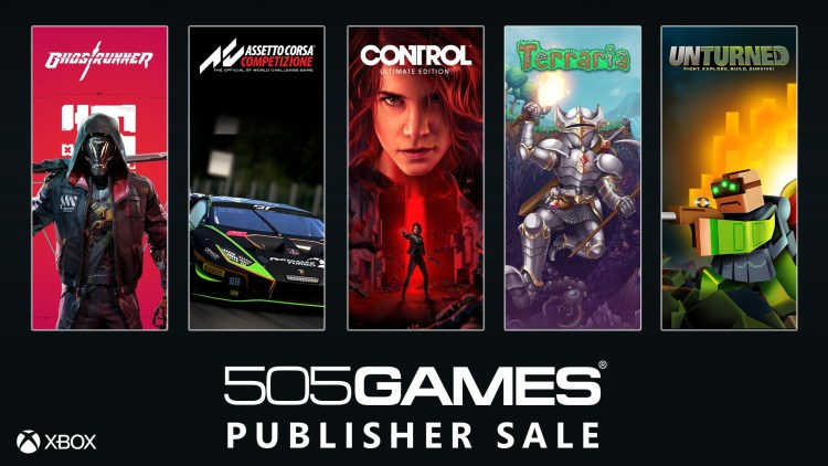 505 Games Publisher Sale: Get up to 20% to 80% Off on Xbox Games