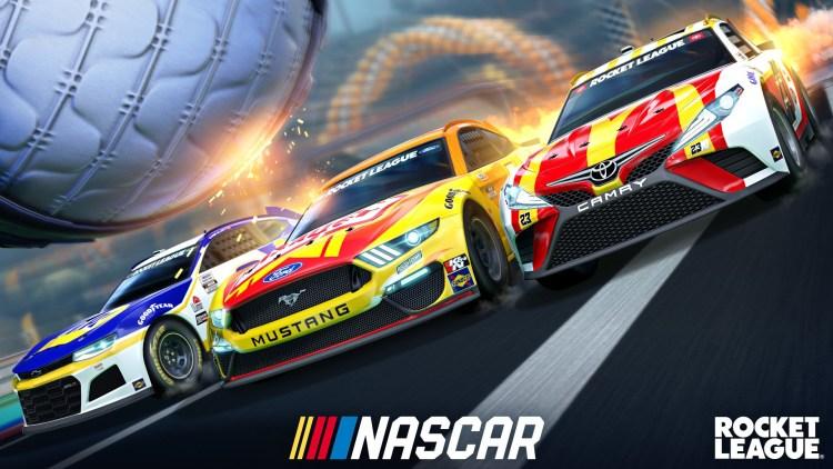 NASCAR 2021 Fan Pack Now Available in Rocket League