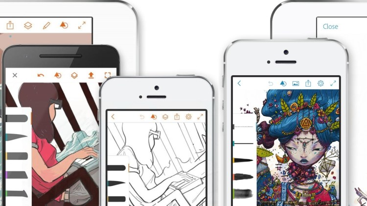 Adobe will remove Illustrator Draw and Photoshop Sketch apps from App Stores this July