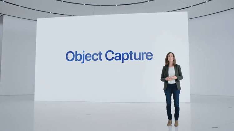 Apple announced its 3D Object Capture API at WWDC 2021