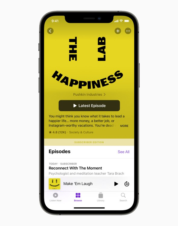 Apple iPhone12Pro HappinessLab SubscriberEdition 061521