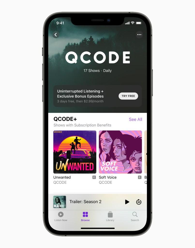 Apple iPhone12Pro QCODE 061521