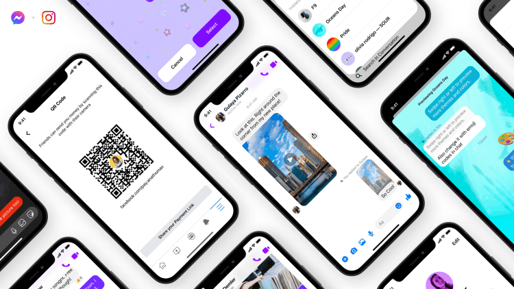 Messenger introduces Quick Reply Bar, Play via QR Codes, and Payments Links, new chat themes