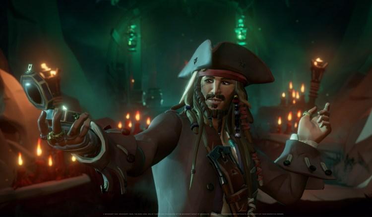 Sea of Thieves season three brings Captain Jack Sparrow and his crew
