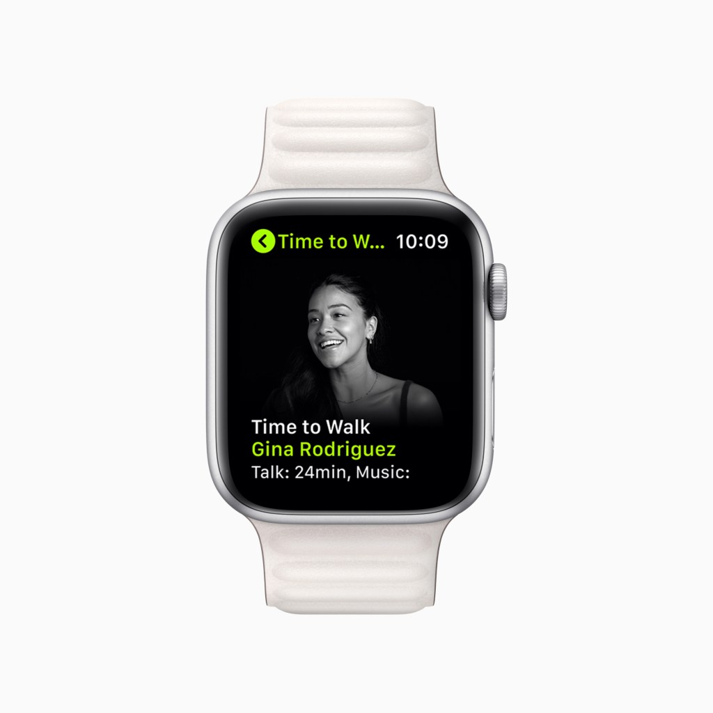 apple fitness plus update june2021 time to walk gina rodriguez 06242021