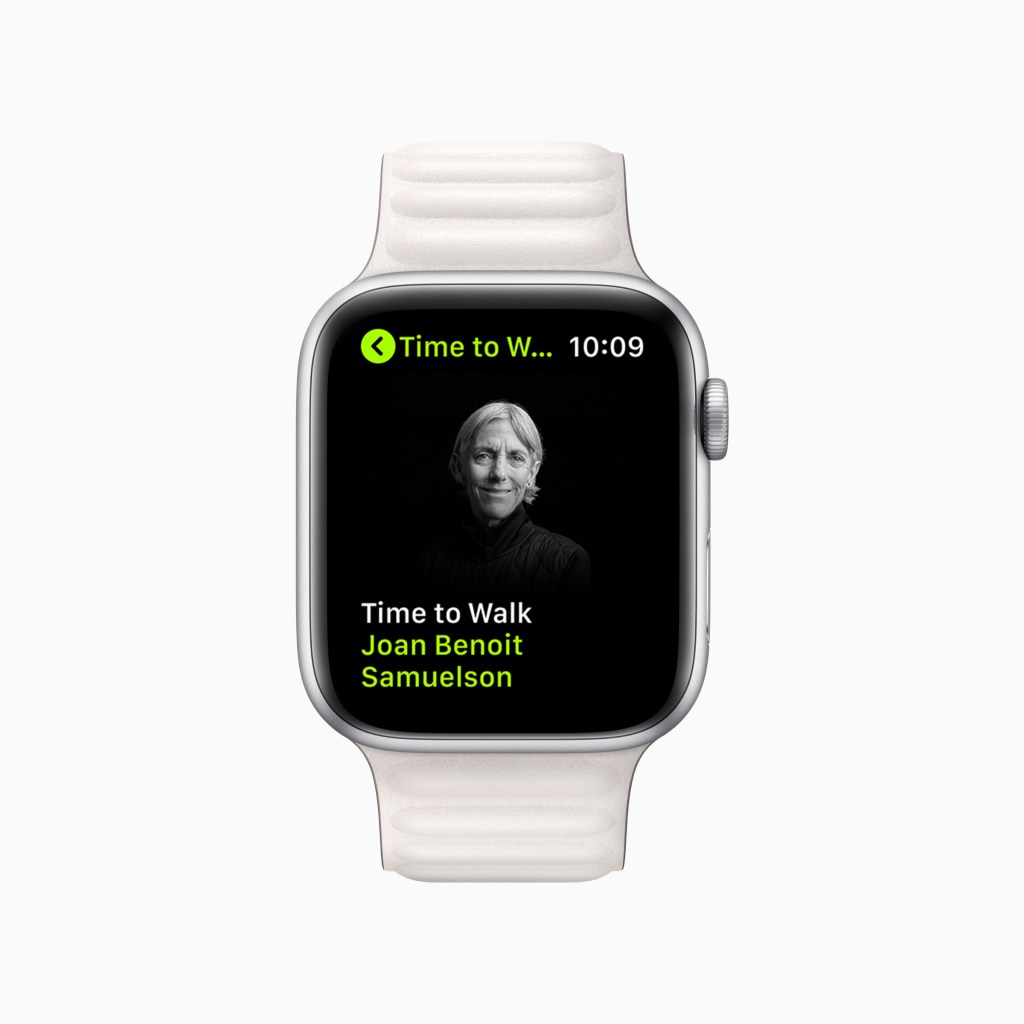 apple fitness plus update june2021 time to walk joan benoit samuelson 06242021