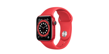 Save $120 on Apple Watch Series 6 (GPS) 40mm (PRODUCT)RED