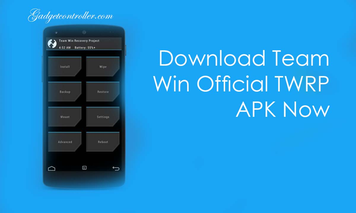 [Latest]Download Team Win Official TWRP APK from Directlink/Playstore