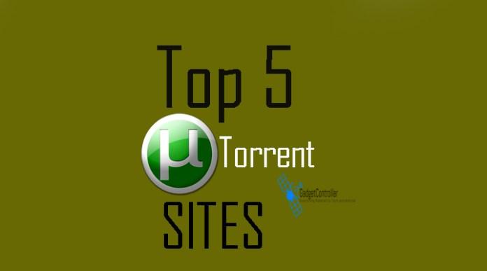 Top 5 Best Torrent Sites 2017