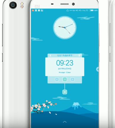MIUI 8 Themes for Xiaomi Redmi 3S/Prime